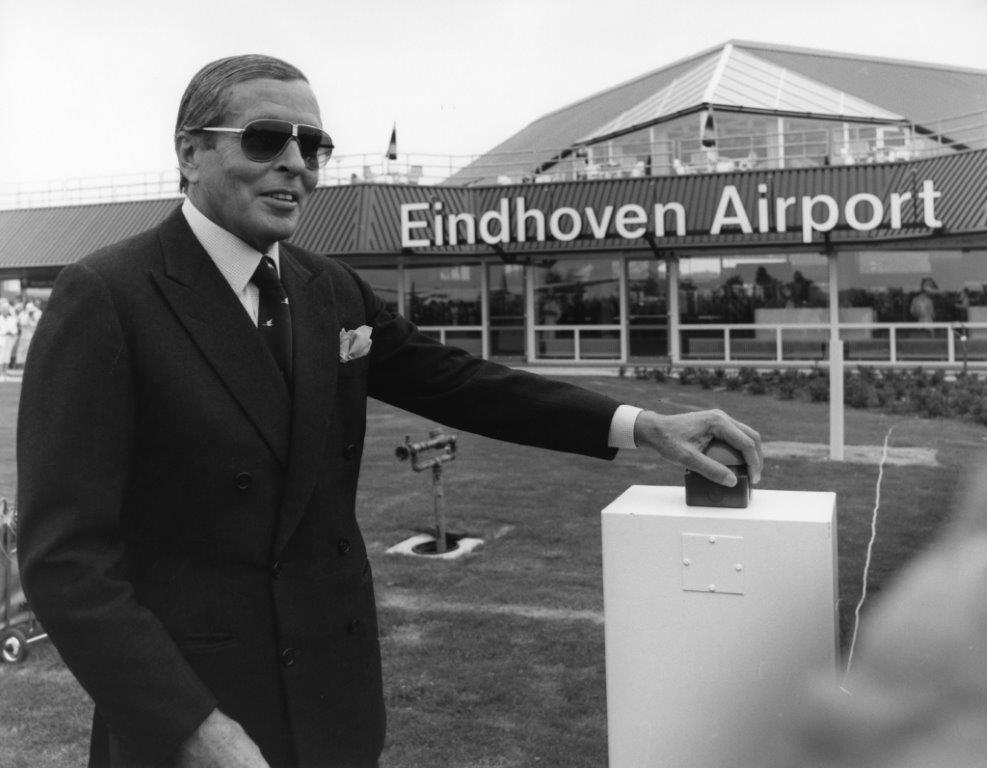 Opening Eindhoven Airport 1984